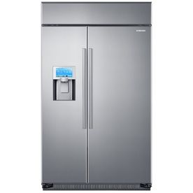 Samsung True 26 5 Cu Ft Built In Side By Side Refrigerator With