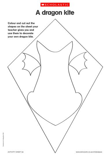 Kite Template Printable  Ideas For The House    Kite
