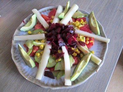 recettes salades composées faciles