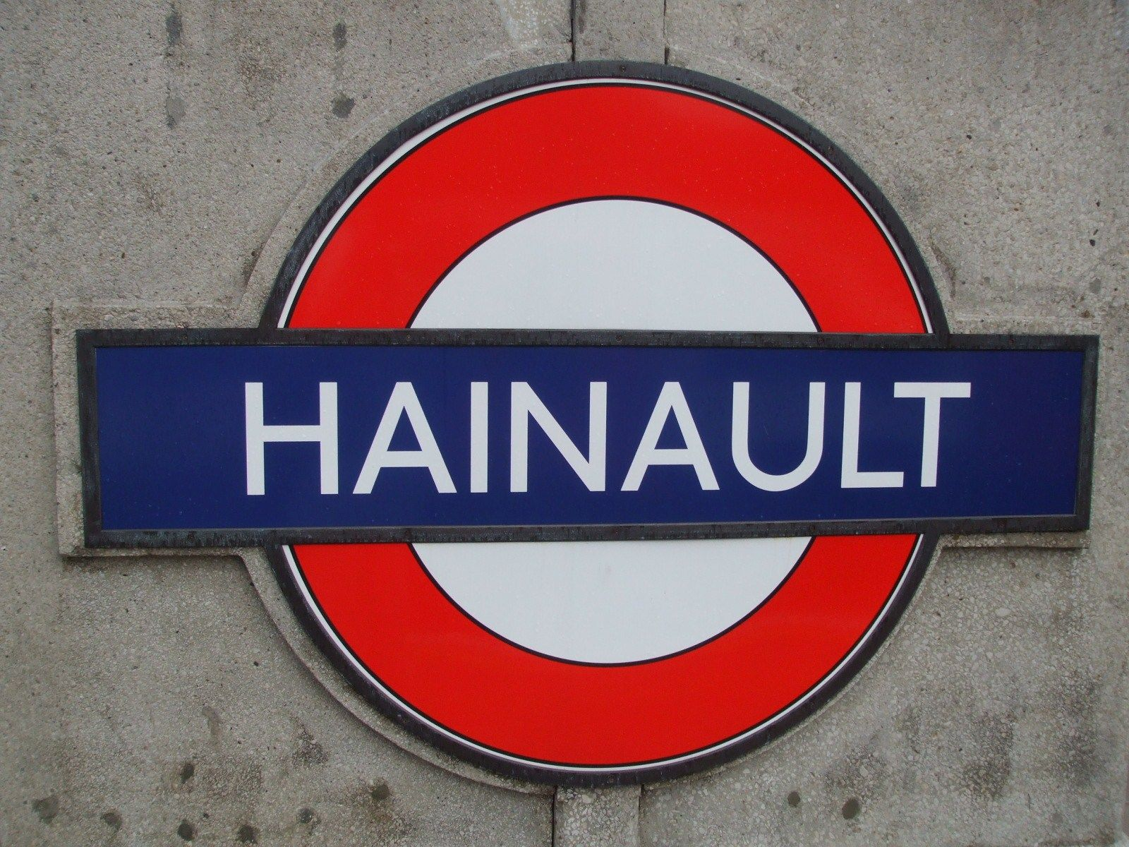 Hainault London Underground Station In Hainault Greater London