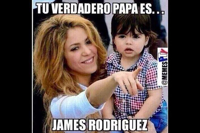 Los Memes De James Rodriguez Con Los Que Celebramos El Triunfo Del Real Madrid Memes De James James Rodriguez Memes