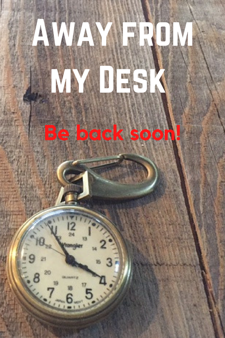Away From Desk Sign This Is A Downloadable Pdf Or We