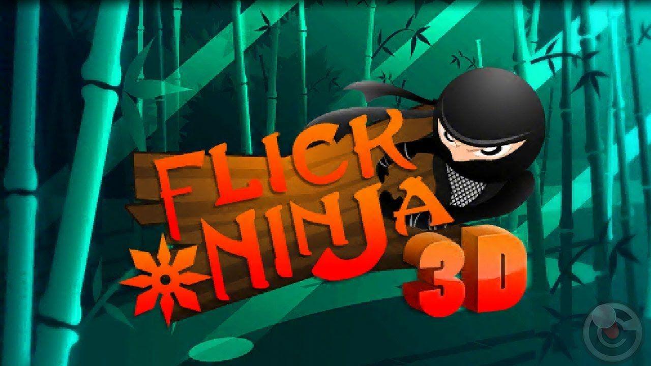 Flick Ninja 3d Iphone And Ipad Gameplay Https Www Youtube
