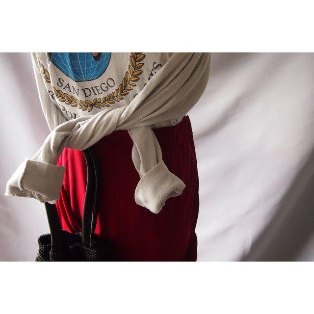 Drape romantic flare skirt    Teddy(For adults)Market powered by BASE #flaredskirt