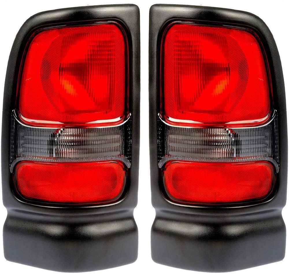 Fits 94 02 Dodge Ram Pickup Tail Light Rear Lamp Taillight Pair 2001 Dodge Ram 1500 Dodge Ram Pickup Dodge Ram