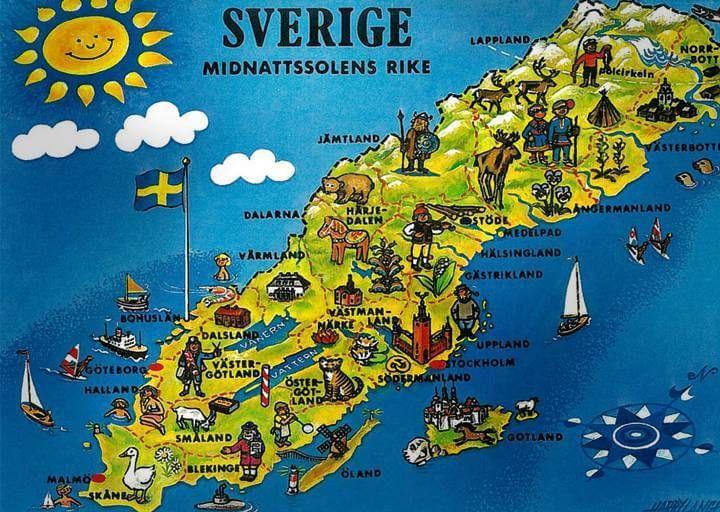 Sverige är fantastiskt (med bilder) | Sverige
