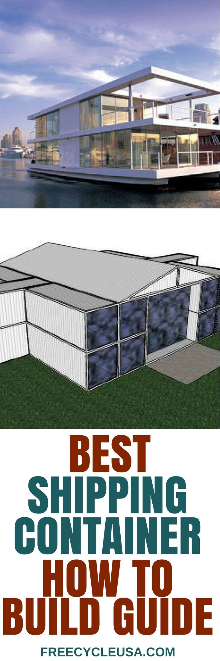 How to build amazing shipping container homes container living