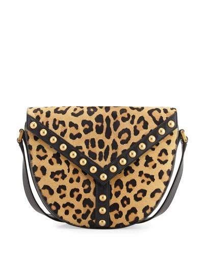 6d5abfd78bad SAINT LAURENT Y Studs Leather Crossbody Bag