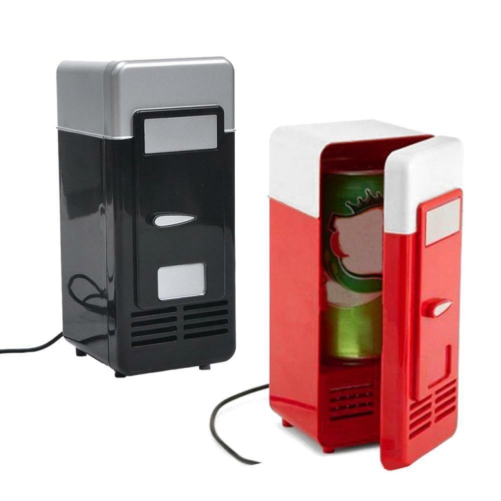 Portable Mini USB Fridge Cooler for Beverage Can Drink