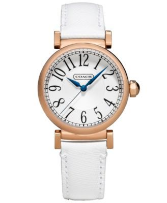 Coach Women S Madison Fashion Strap Watch 32mm 14501730 Watches