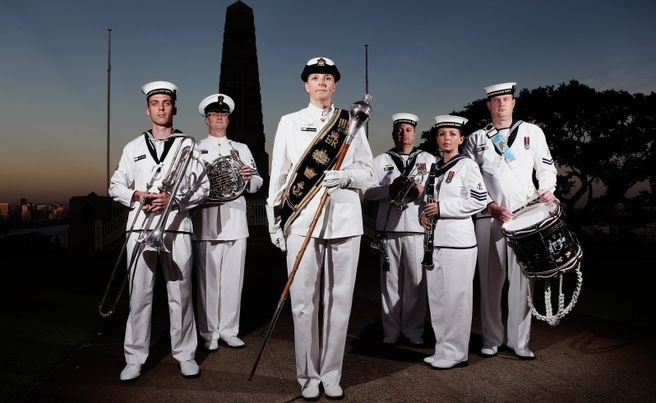 Hectic Schedule Has Band On The March Royal Australian Navy Anzac Anzac Day