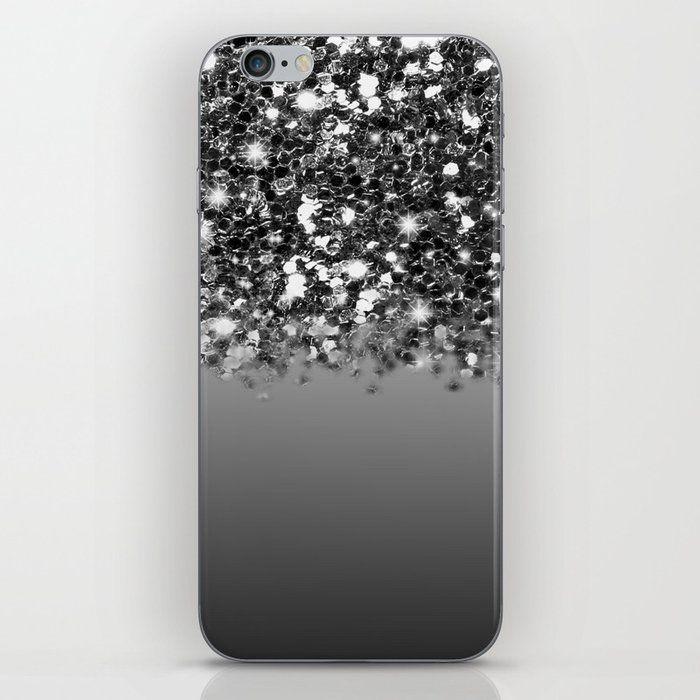 Black Wallpaper Iphone Glitter Rose Gold