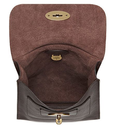 f86a6d0bc949 MULBERRY Antony small messenger bag (Chocolate