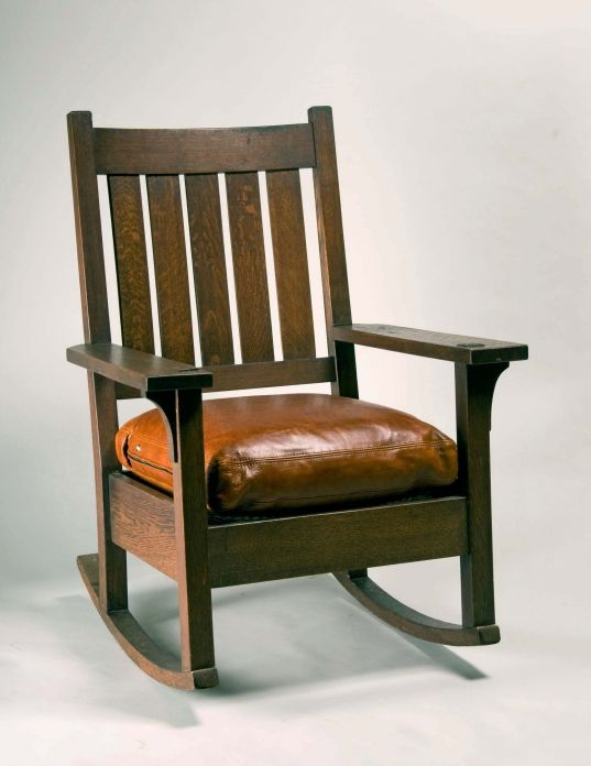 Rocking Chair Circa 1905 Gustav Stickley Eastwood New York