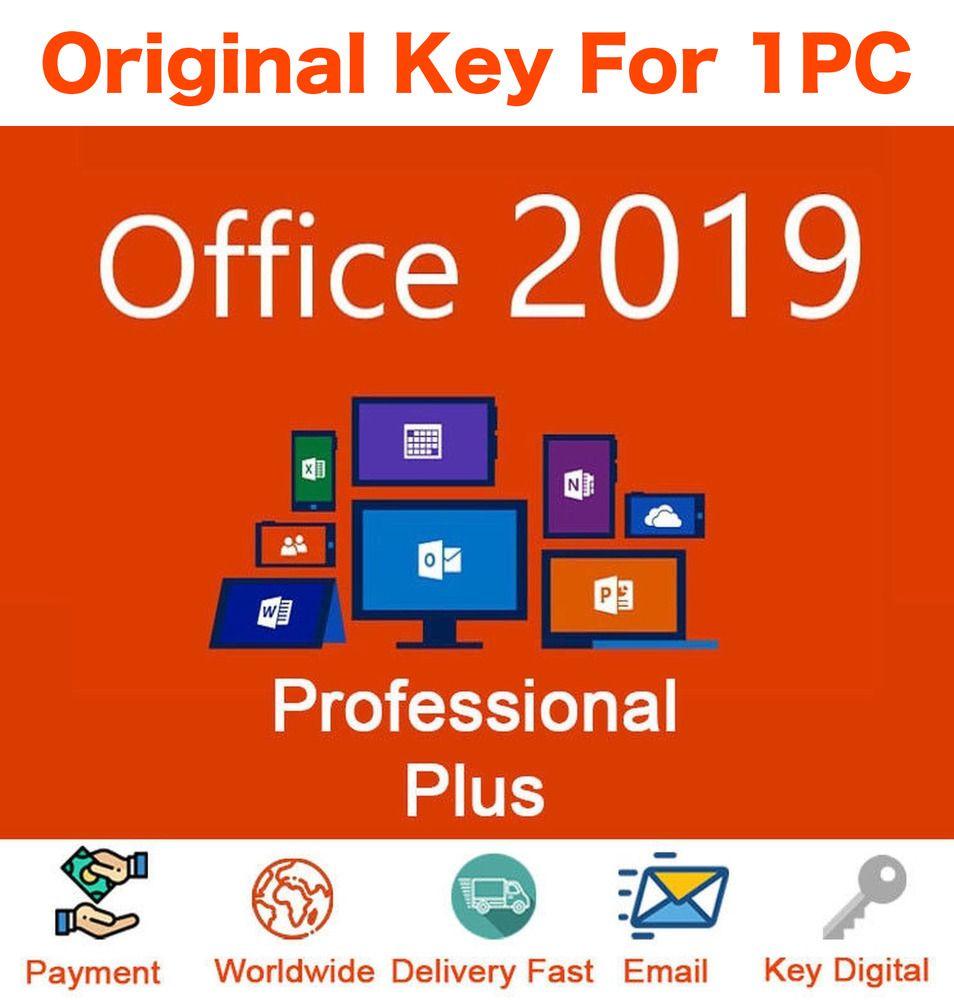 Microsoft Office 2019 Professional Plus Key Product Key