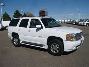 Summit White 2005 Gmc Yukon Denali With Sandstone Seats Yukon