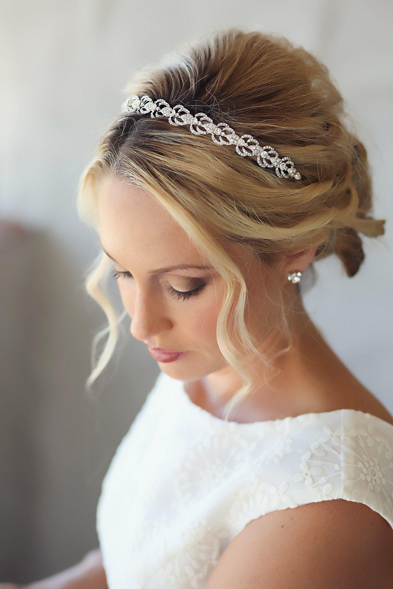 simone headband | wedding veils in 2019 | bridal hair