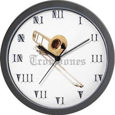 trombone clock - Google Search