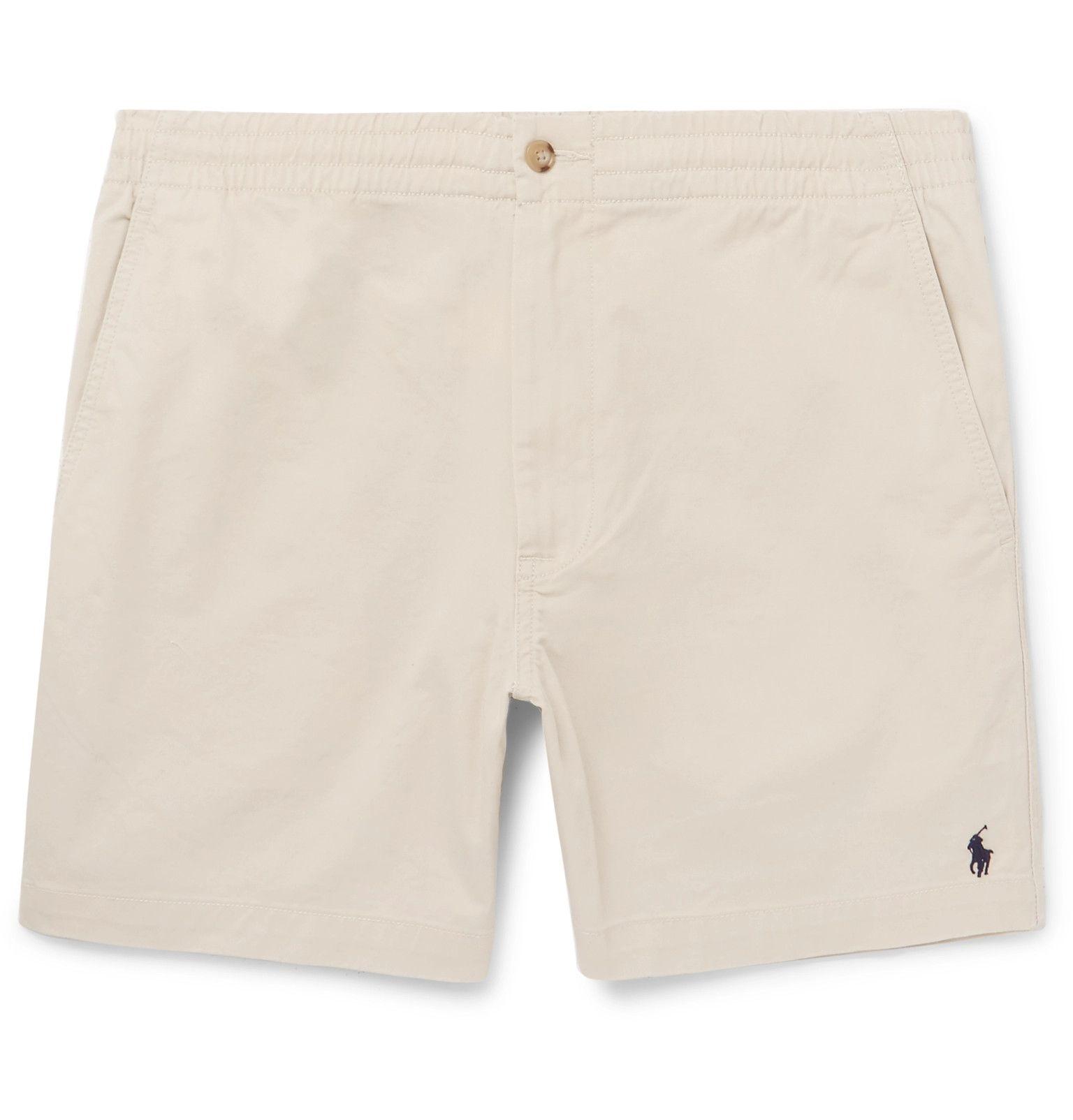 Ralph Lauren Prepster Stretch-cotton Twill Shorts - White EVbHBQKf