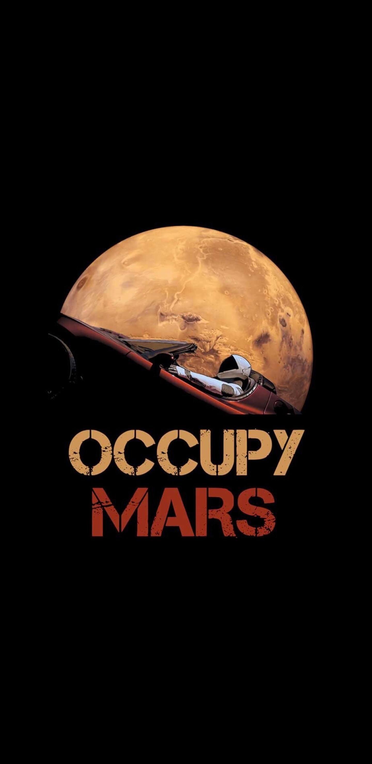 Occupy Mars Mars Wallpaper Phone Wallpaper Samurai Artwork