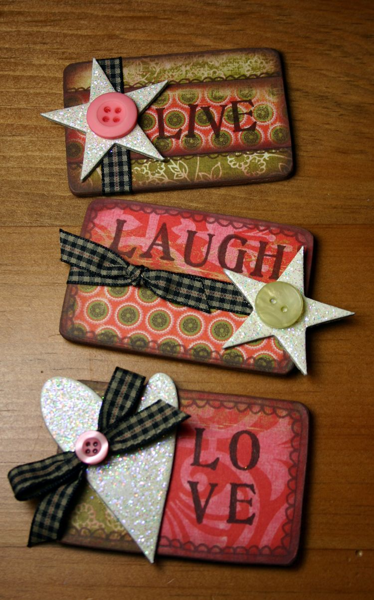 Love diy crafts candy cards