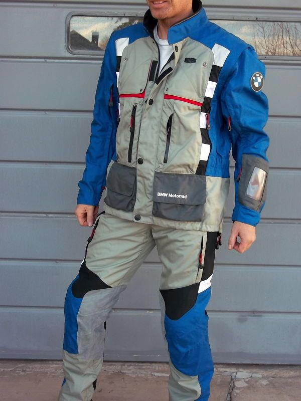 Bmw Rallye 2 Pro Suit Complete Jackets Pants Gore Tex Liner Never