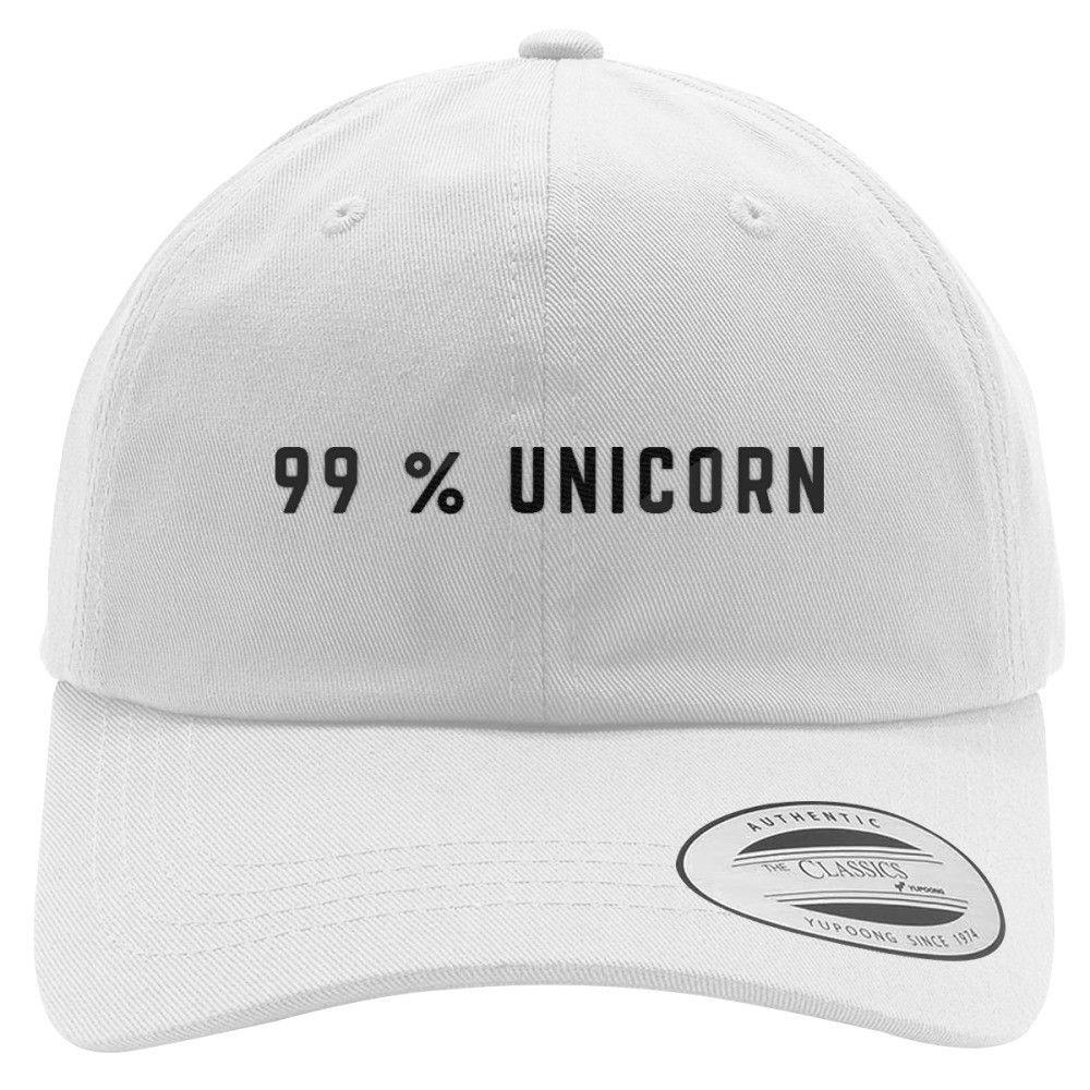 99% Unicorn Cotton Twill Hat