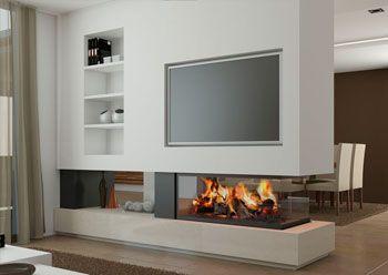 Chimeneas Modernas Bellagio Huis Ideeen Openhaard Ideeen Tv