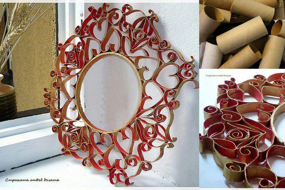 Espejo sugerencias de decoraci n pinterest espejo - Espejo de papel ...