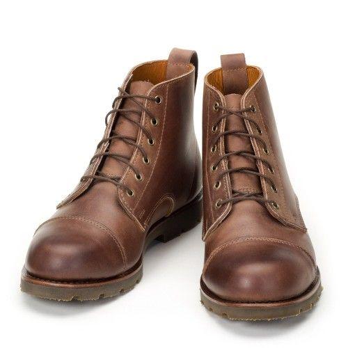 Hamilton Boot - Dark Brown Bulldog