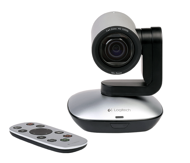 Logitech PTZ Pro Camera for large conference rooms | Listening room ...