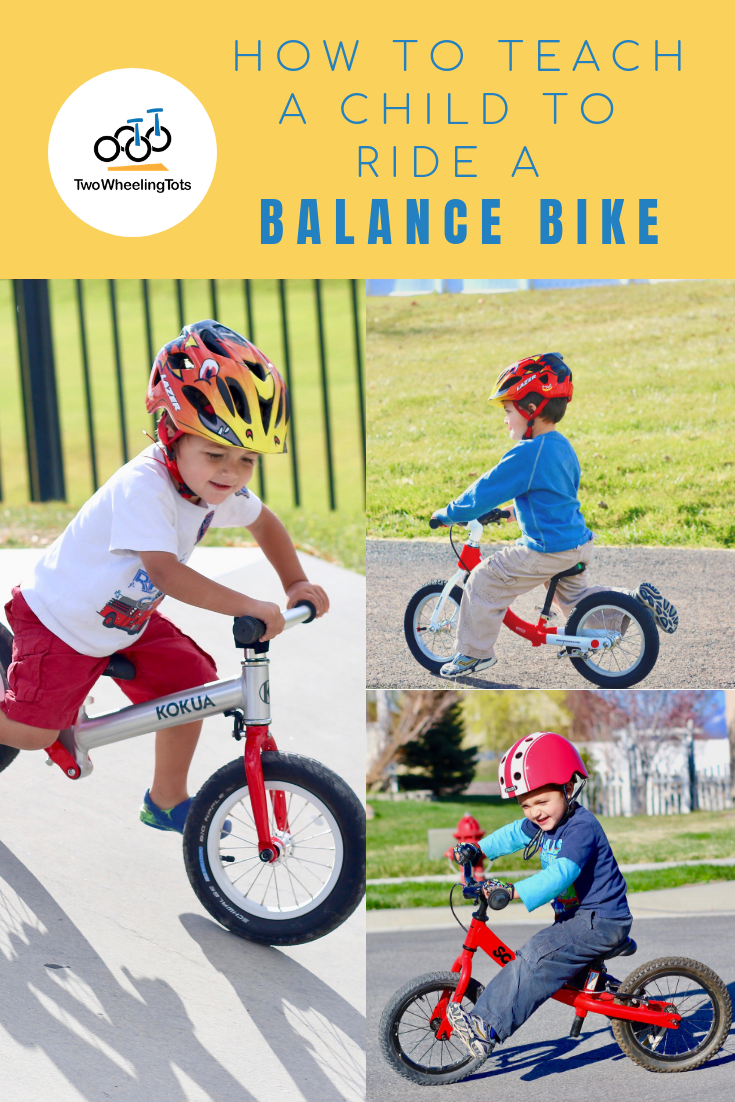 How To Ride A Balance Bike Balance Bike Bike Riding