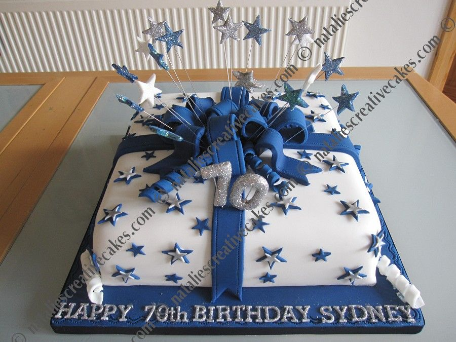 Birthday Cakes For Men View Full Size More 70th Birthday Cakes