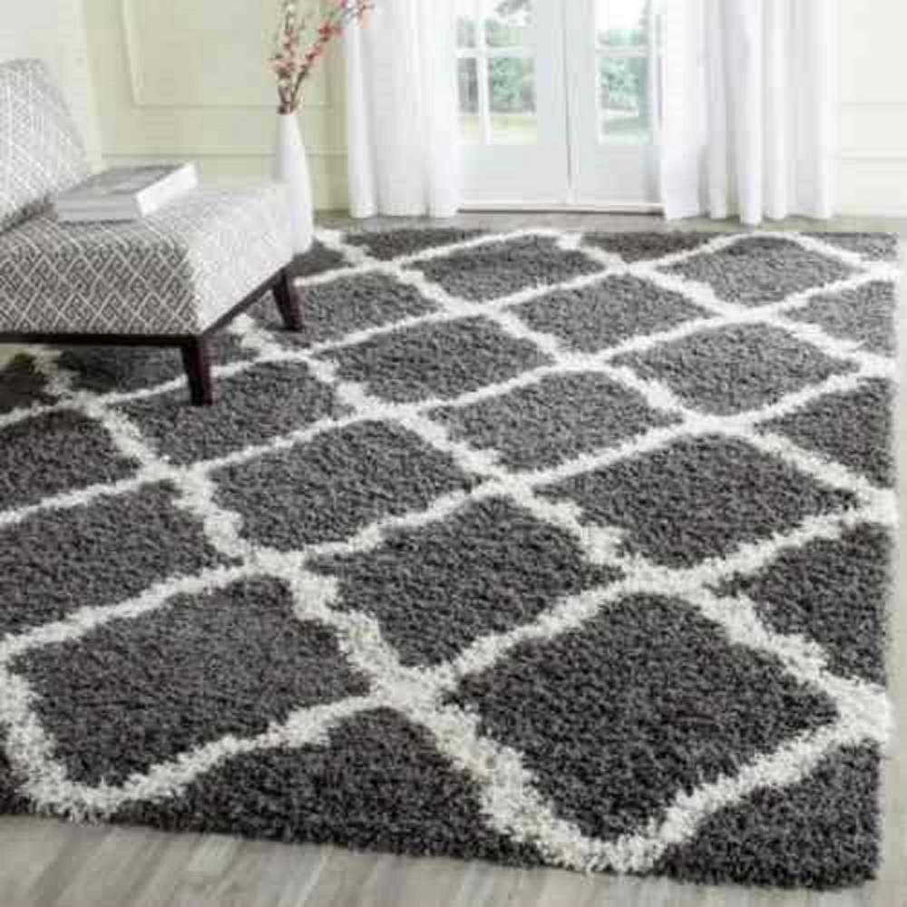 Using Shag Area Rugs Is Quite Beneficial For Your House Goodworksfurniture In 2020 Gray Rug Living Room Rugs In Living Room Grey And White Rug