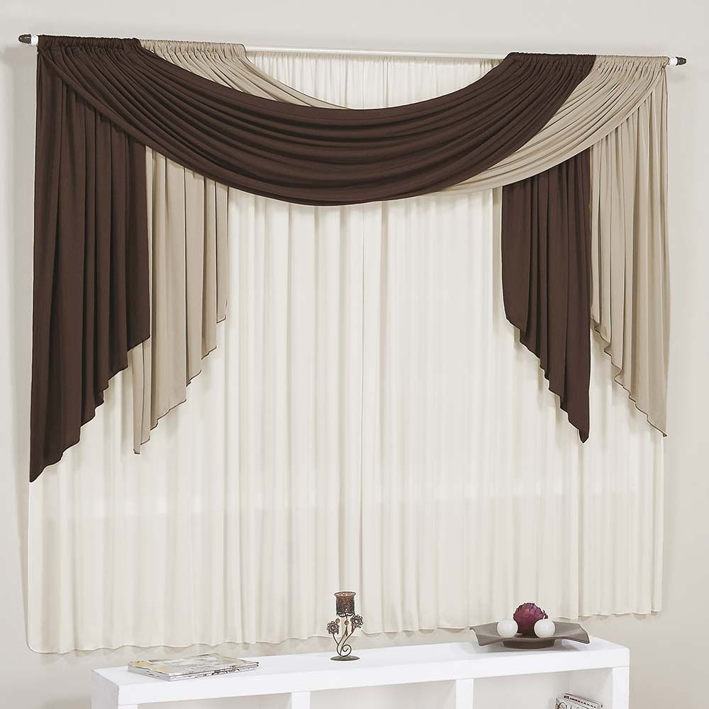 modern brown and white living room curtains | Ideas for the House ...