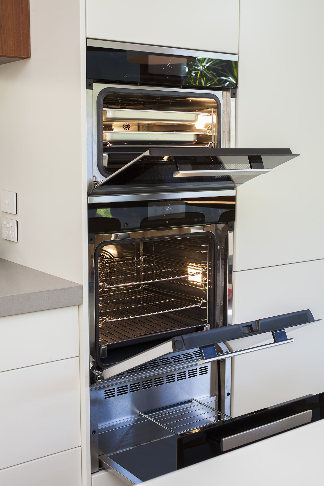 Stanmore Terrace Project Miele 6000 appliance stack