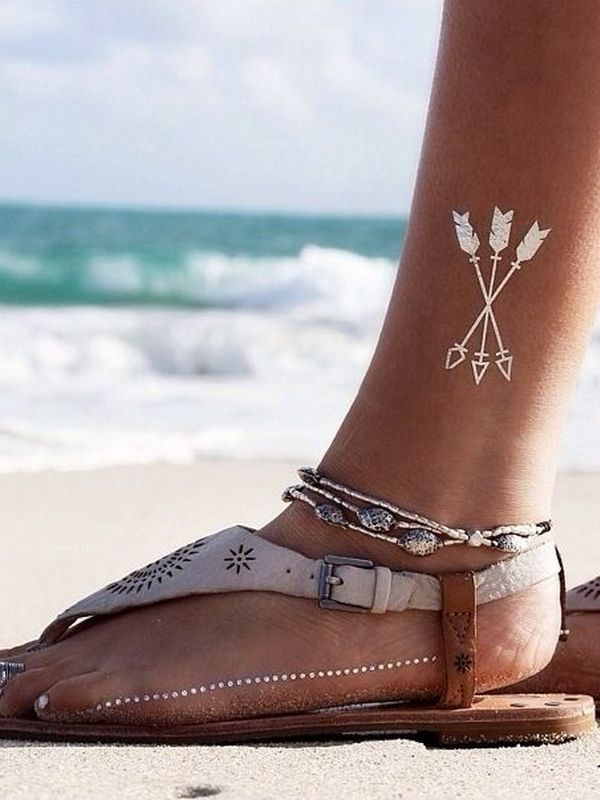 244 Stupendous Ankle Tattoos | CreativeFan