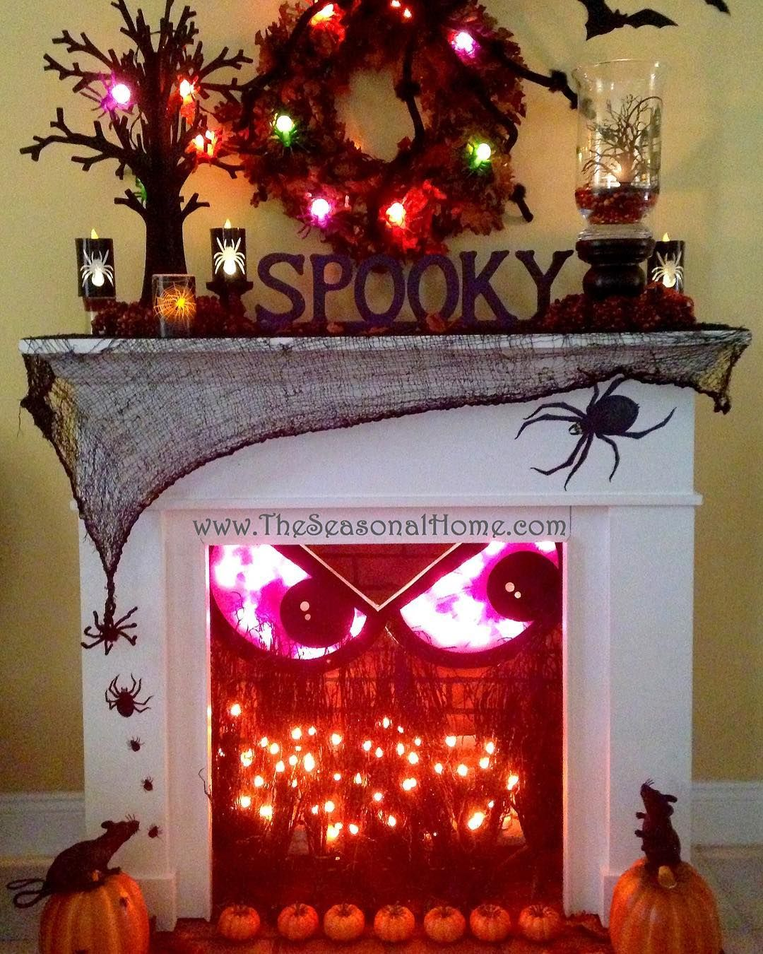 7 Likes, 1 Comments - Seasonal Decoration Ideas - Decorate For Halloween