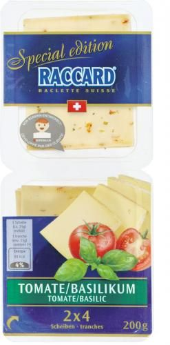 Raccard Special Edition Tomate/Basilikum von Migros #Migipedia #Crowdsourcing #cheese #food #retail #product