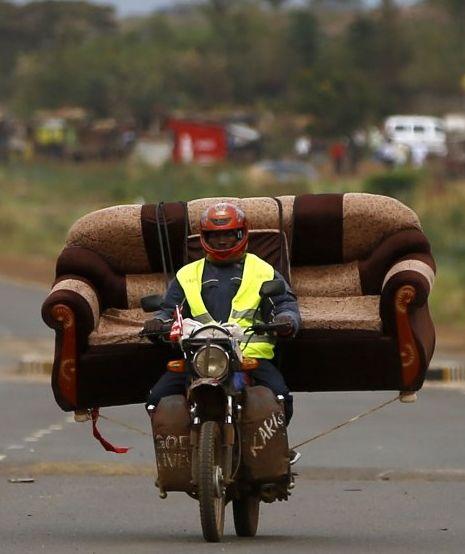 Couch Hauler Motorcycle Motorcycle Motorcycle Camping