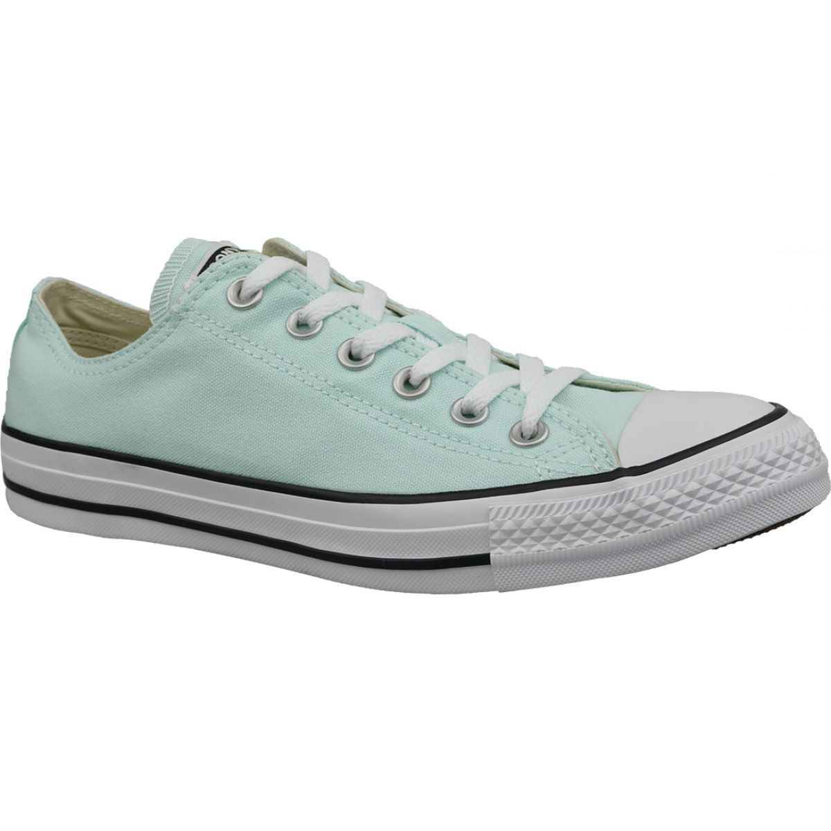 Buty Converse C Taylor All Star Ox Teal Tint W 163357c Niebieskie Converse Shoes Converse Shoes