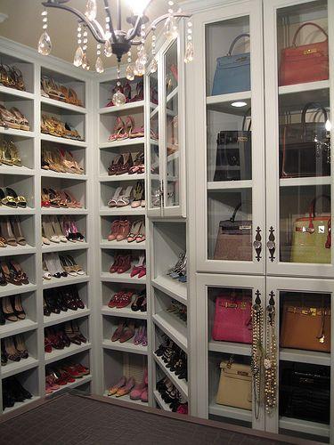 A purse cabinet! I die