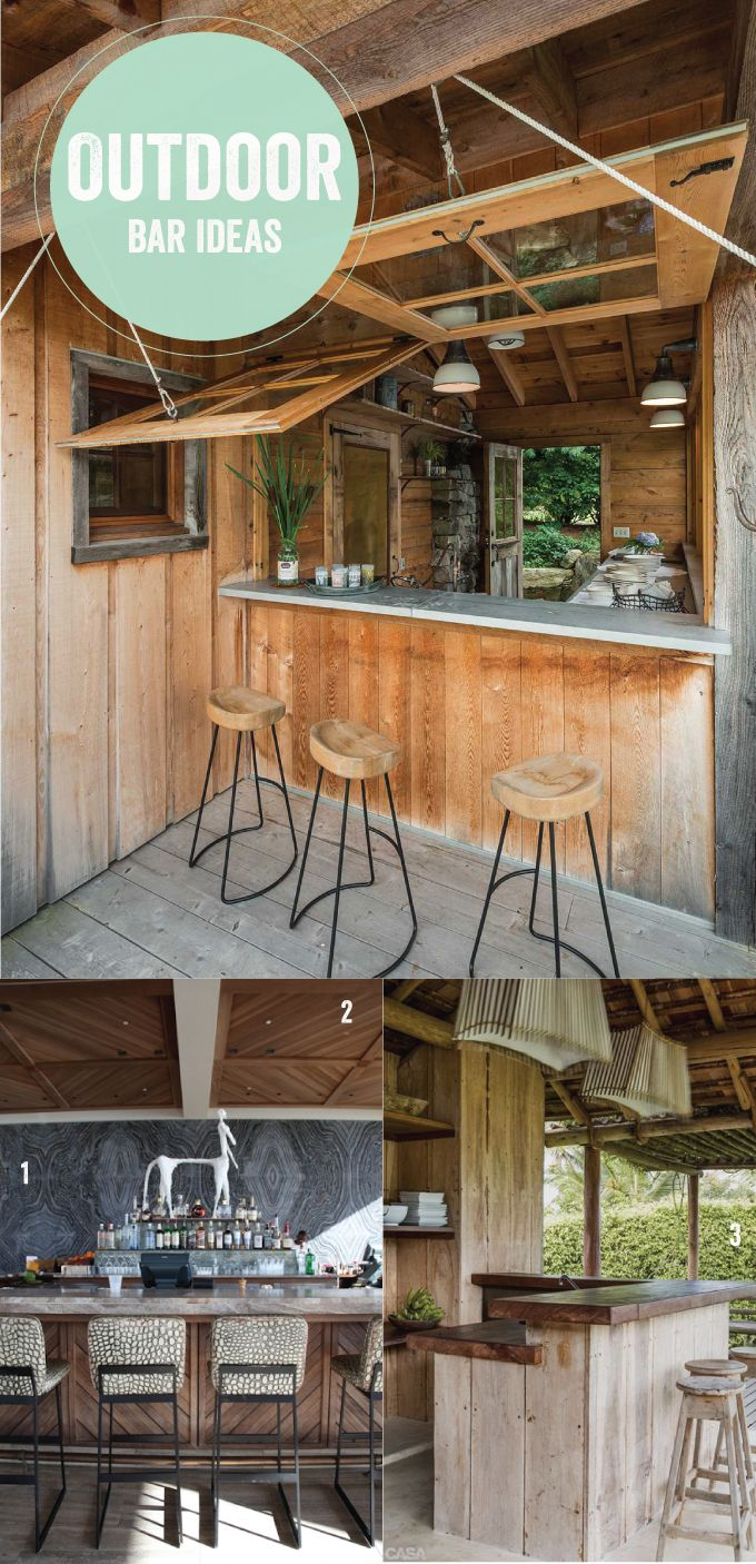 outdoor-bar-ideas | Tiny Houses, Cool Houses & Unusual Houses ...