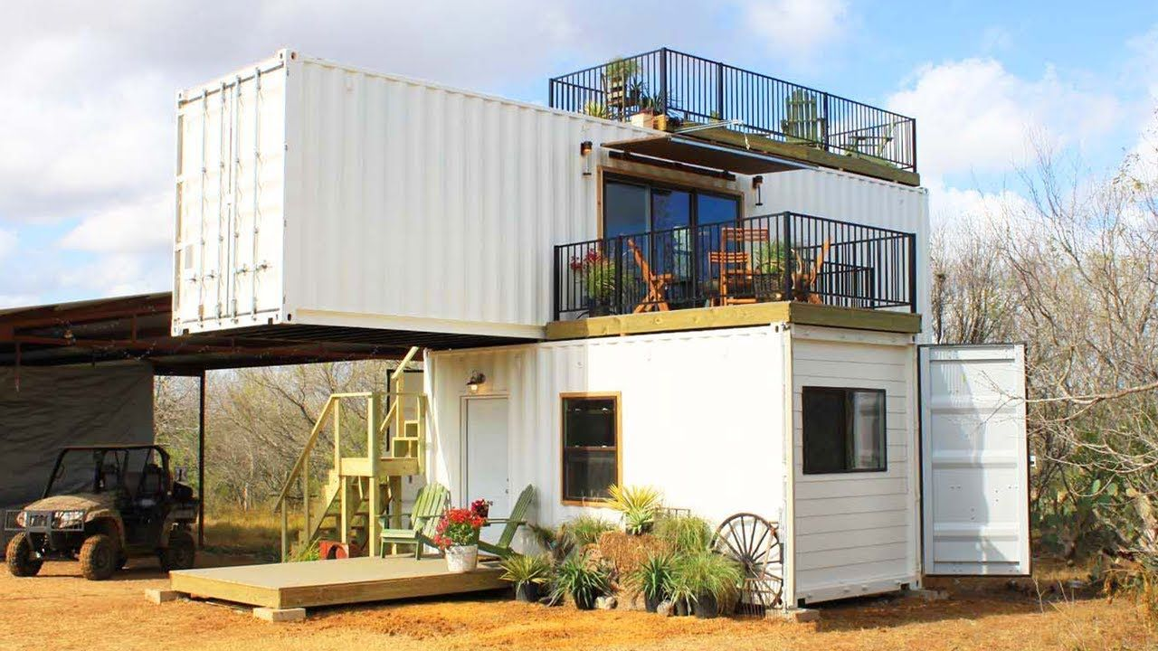 Amazing Beautiful Stack Em With Two Shipping Containers Home From Backco Container House Container Homes Australia Container House Design
