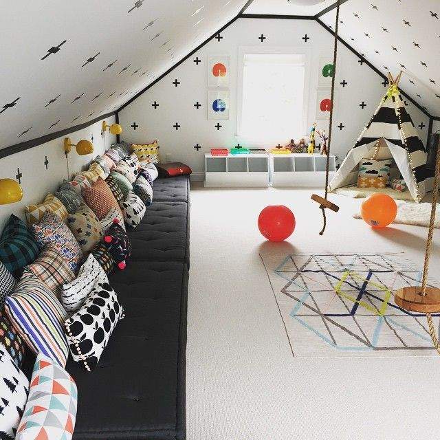 Pin On Homesweethome Decorate kids playroom floor with