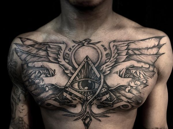 a9b949122 The Egyptian tattoos are one of the most enigmatic and gripping, as they  have the