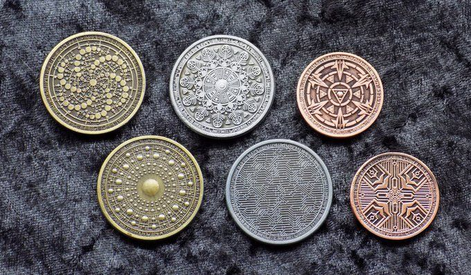 Custom Fantasy Coins