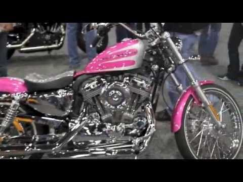 2013 Sportster forty eight Hard Candy Pink Edition Harley Davidson--La Vie en Rose.