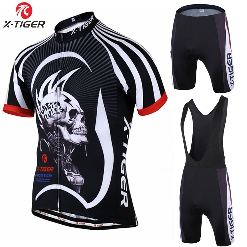 X-Tiger 2017 Cycling jersey Set Summer Bicycle Clothing Maillot Ropa  Ciclismo Hombre Short Sleeve. Mtb BikeBicycleCycling ... f2b58b754