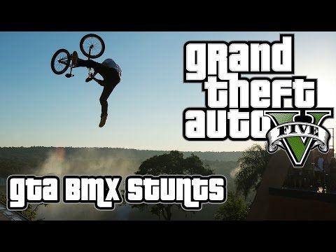 Grand Theft Auto V Gta 5 Bmx Freestyle 1 Youtube Grand